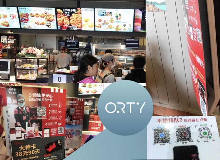 Именно по этой причине сеть KFC в Китае уже заменила киоски на QR-коды.