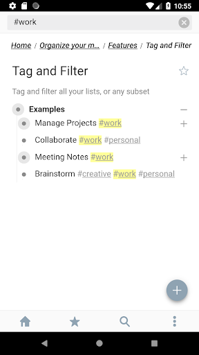 WorkFlowy – Notes, Lists, Outlines