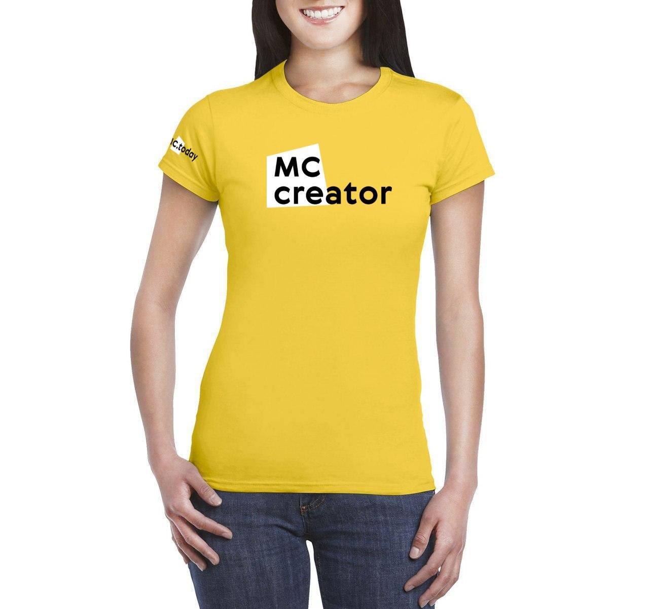 Футболка MC Creator женская