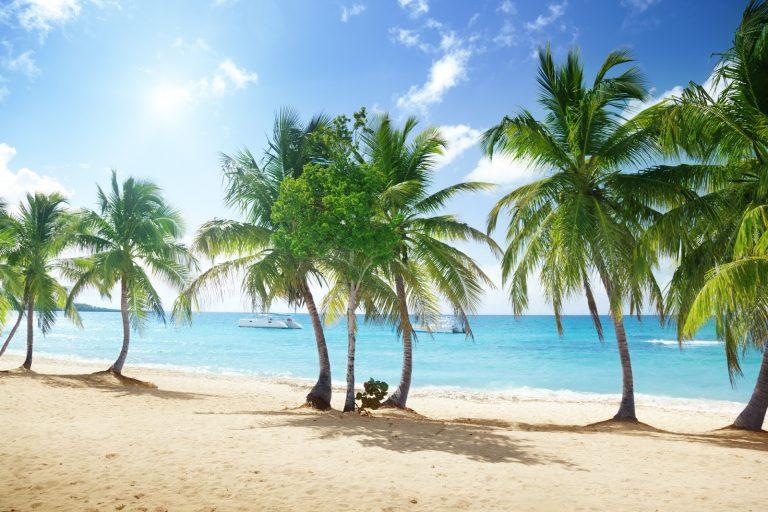 Пляж острова Каталина в Доминиканской Республике. Источник: Depositphotos