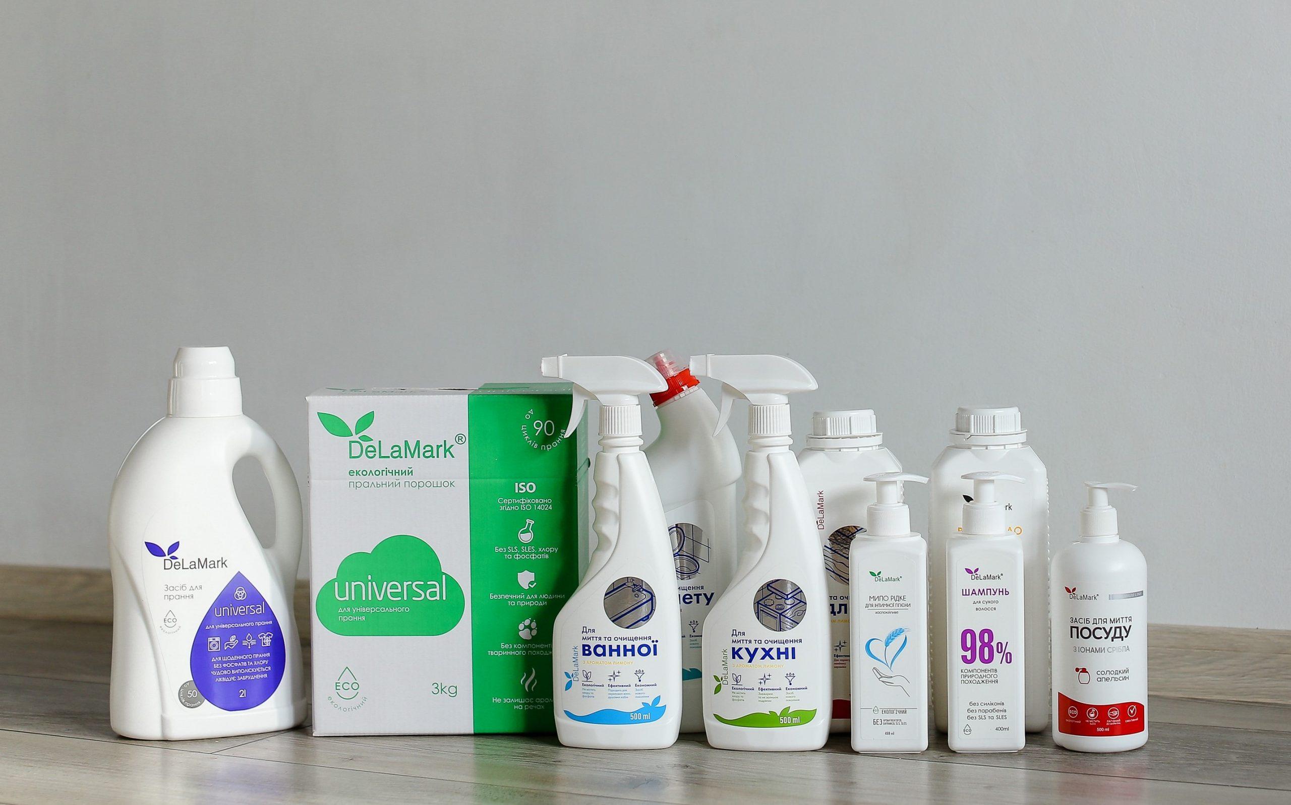 Delamark, виробник екологічних засобів для дому, Київ