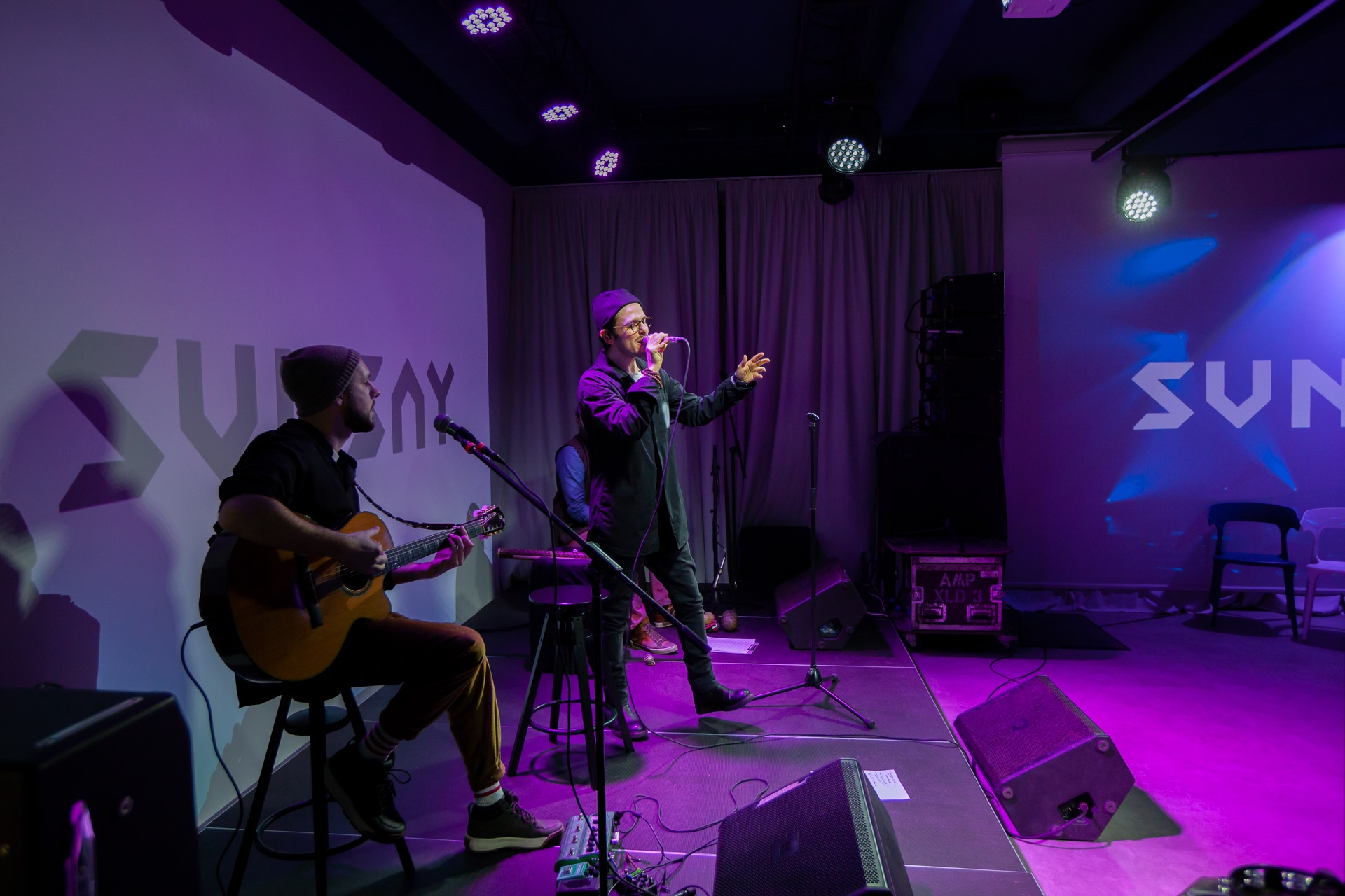 Выступление группы SunSay на открытии Promodo Hub