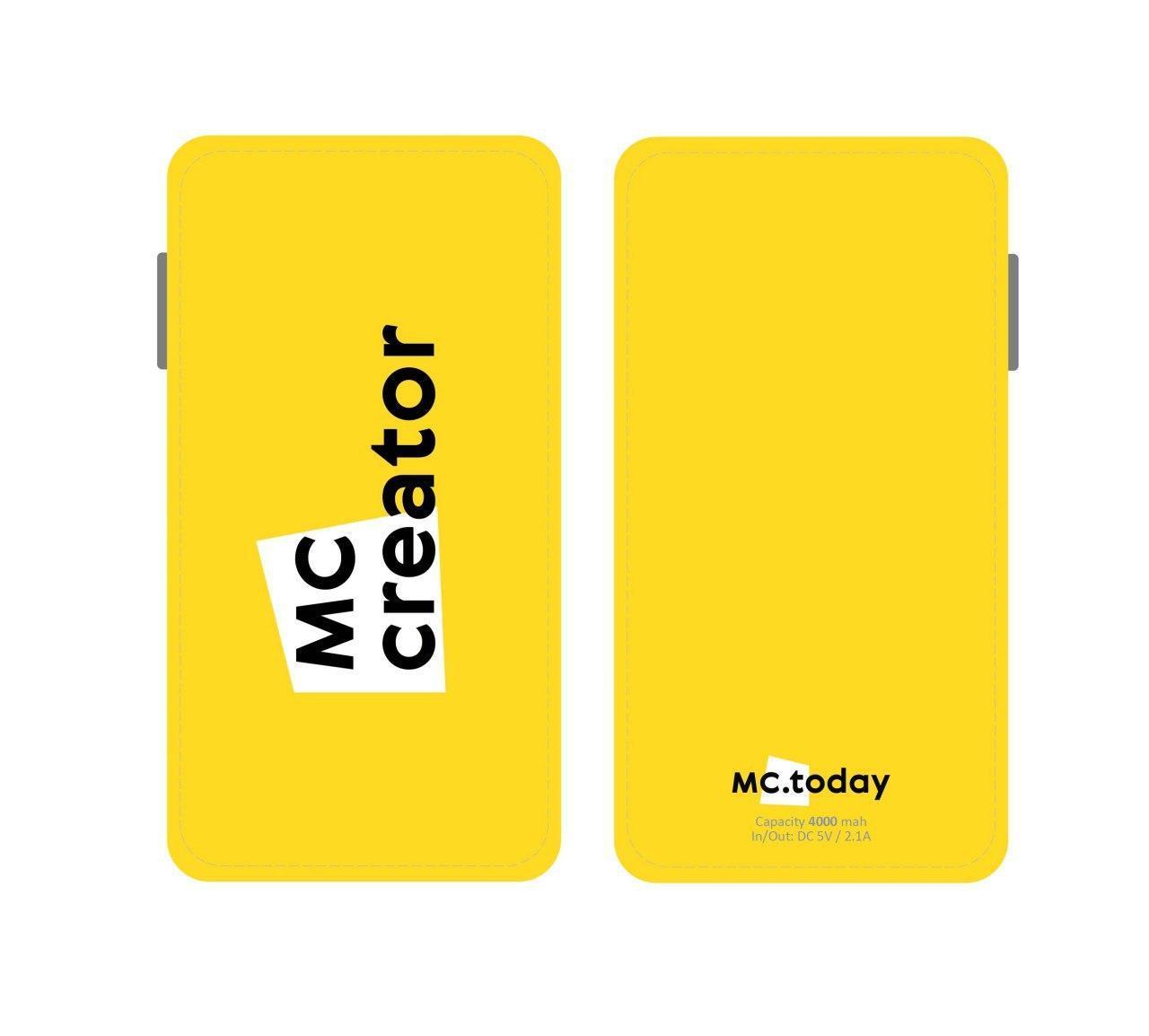 Powerbank MC Creator 4000 mah