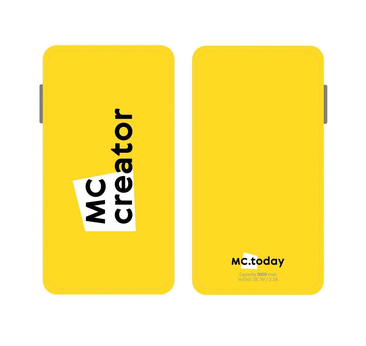 Powerbank MC Creator 9000 mah