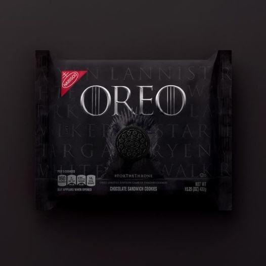 Печенье Oreo «Игра престолов». Источник: Mediaupdate