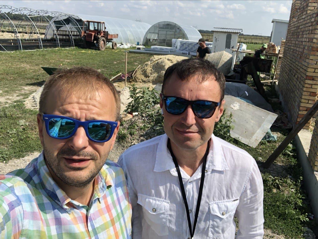 Андрій Дзюбан, засновник равликової ферми Tante Snails, Буск