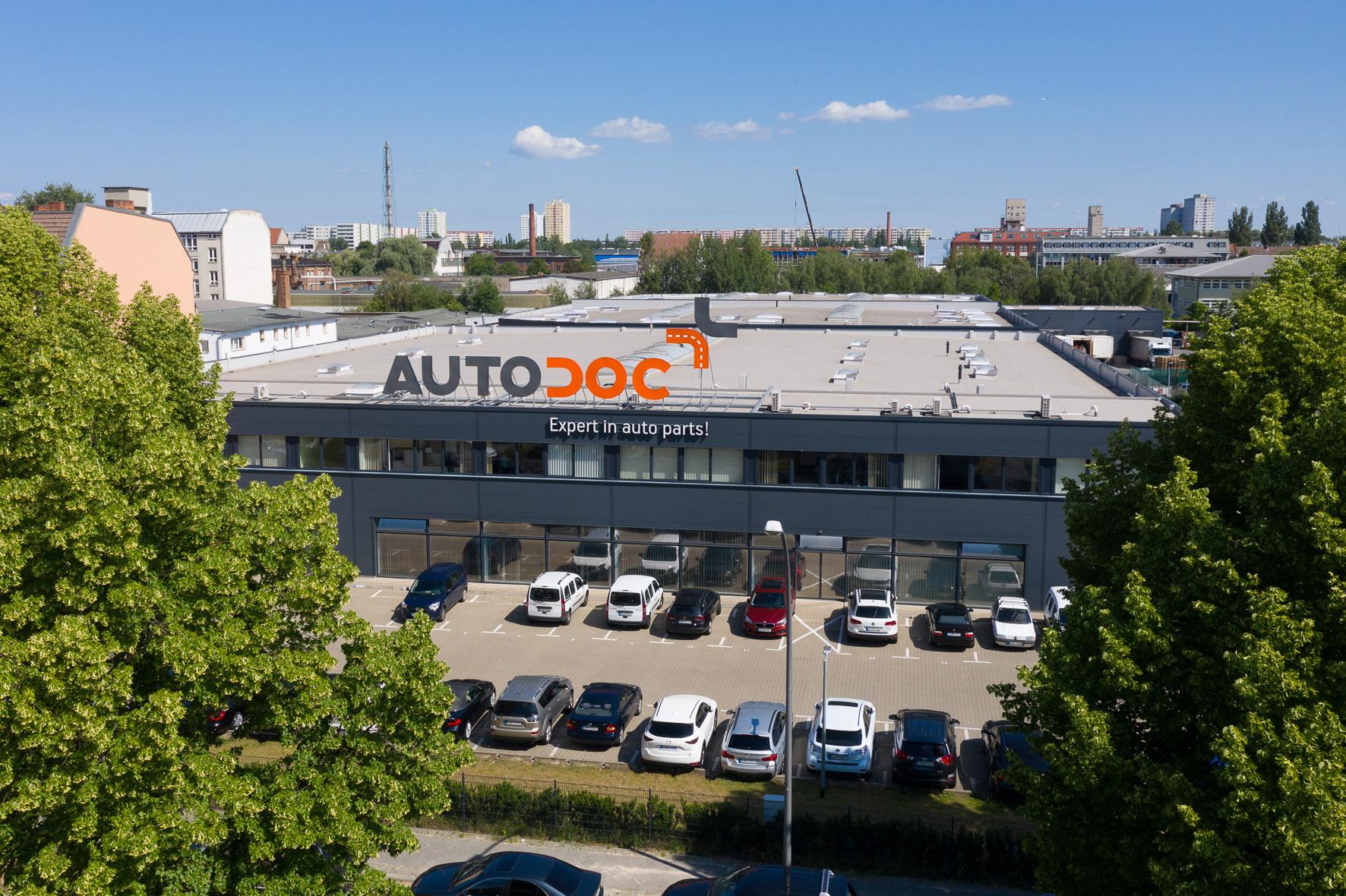 Склад AUTODOC в Берлине