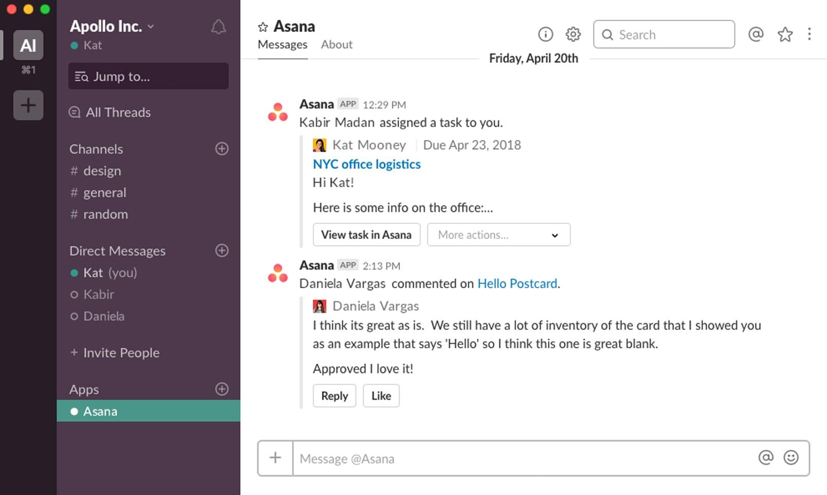 Інтеграція зі Slack