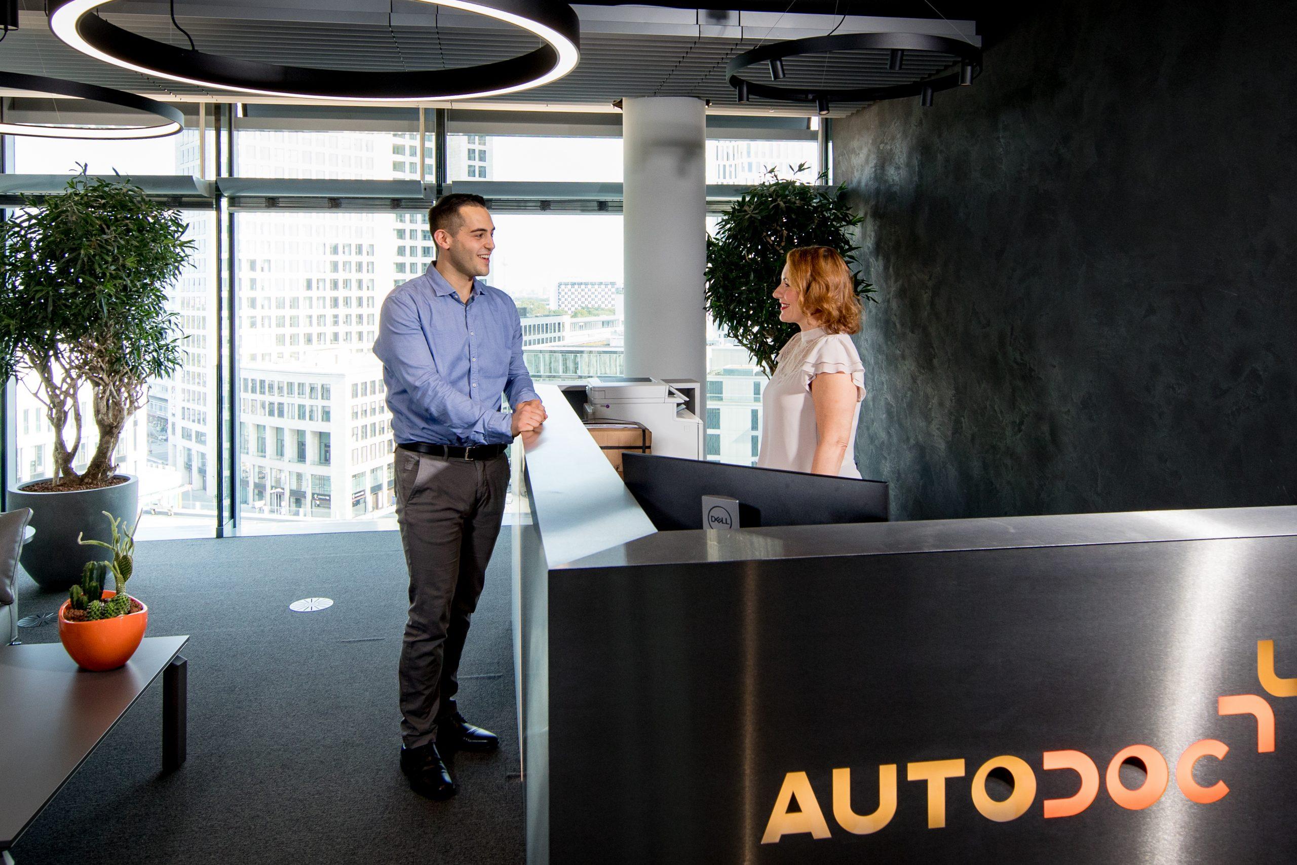 Офис AUTODOC в Берлине