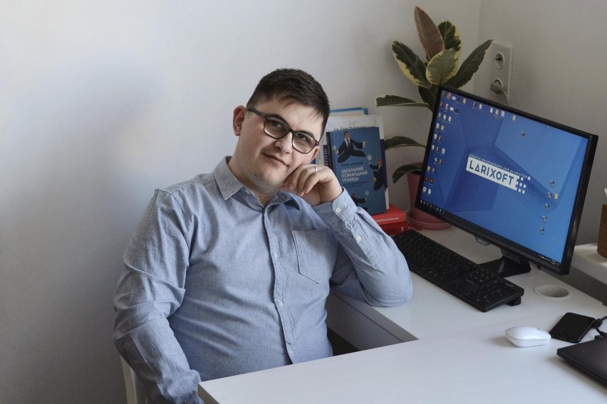 Павло Шиян, співзасновник IT-компанії Larixoft Solutions, Львів