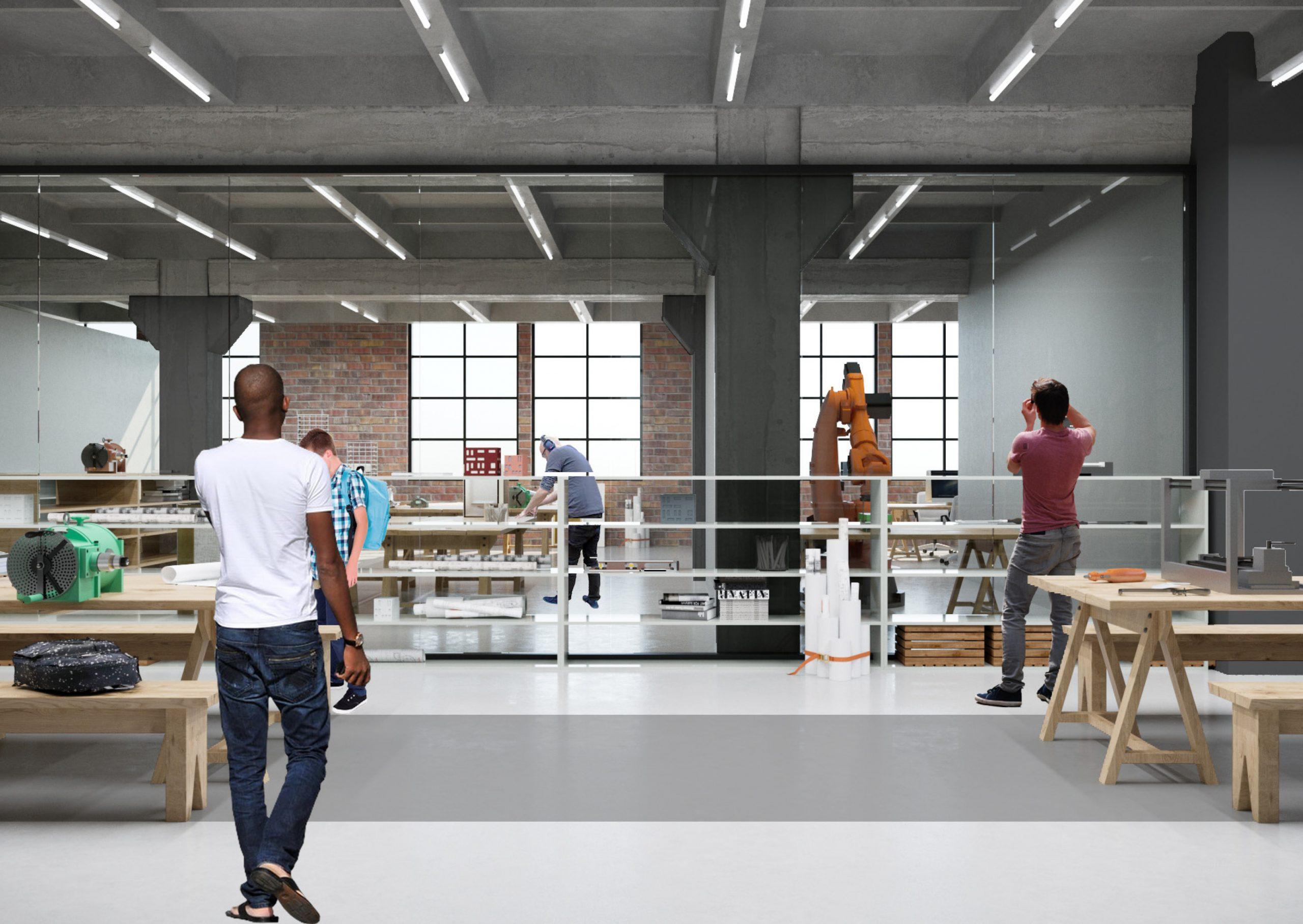 Як буде виглядати Промприлад.Реновація. Рендери: Forma Architectural Studio