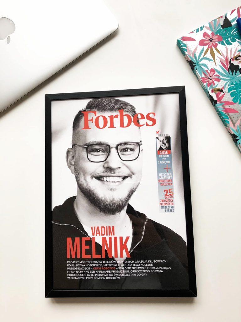 Вадим Мельник на обложке Forbes