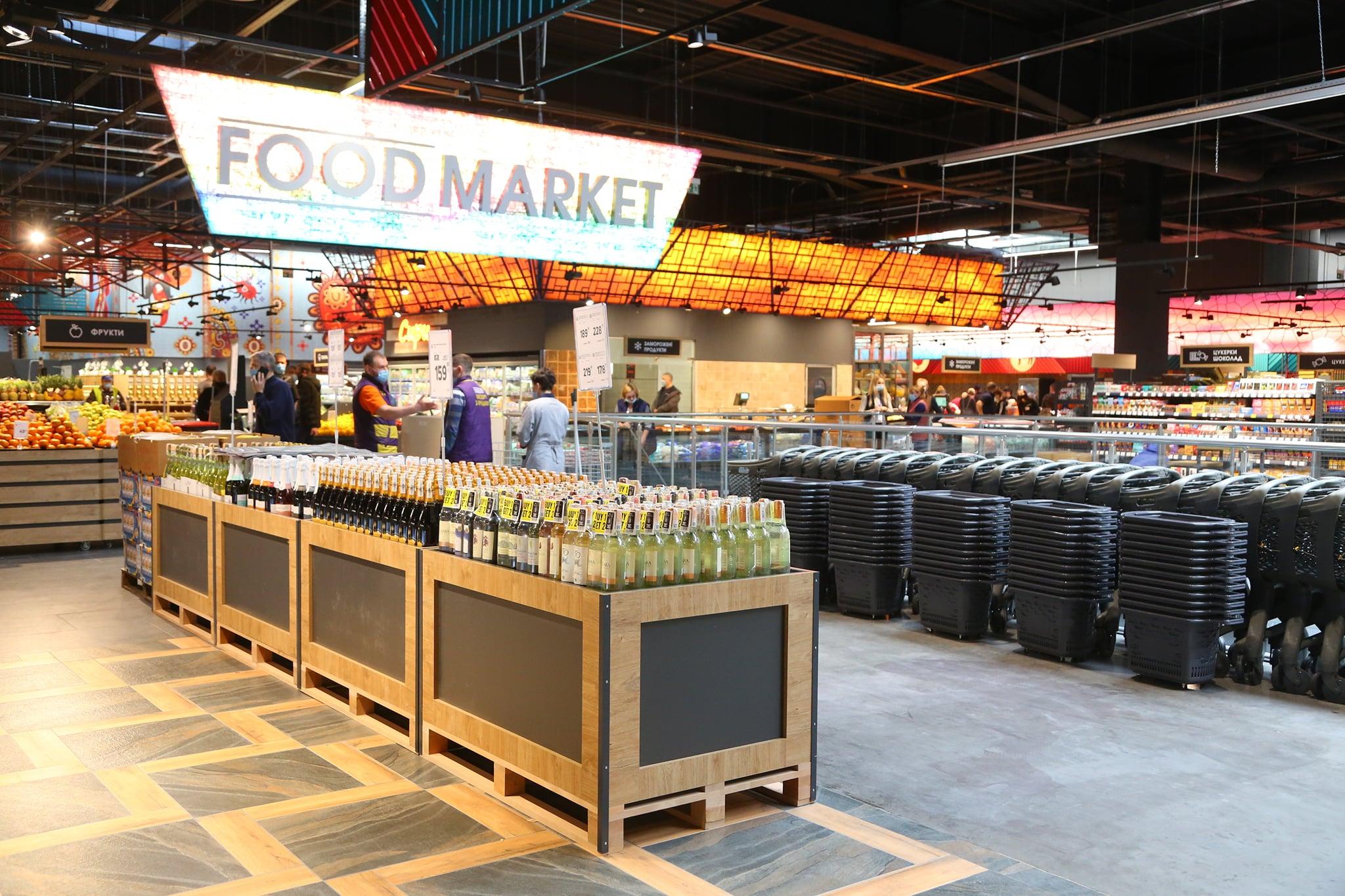 Новый Food Market