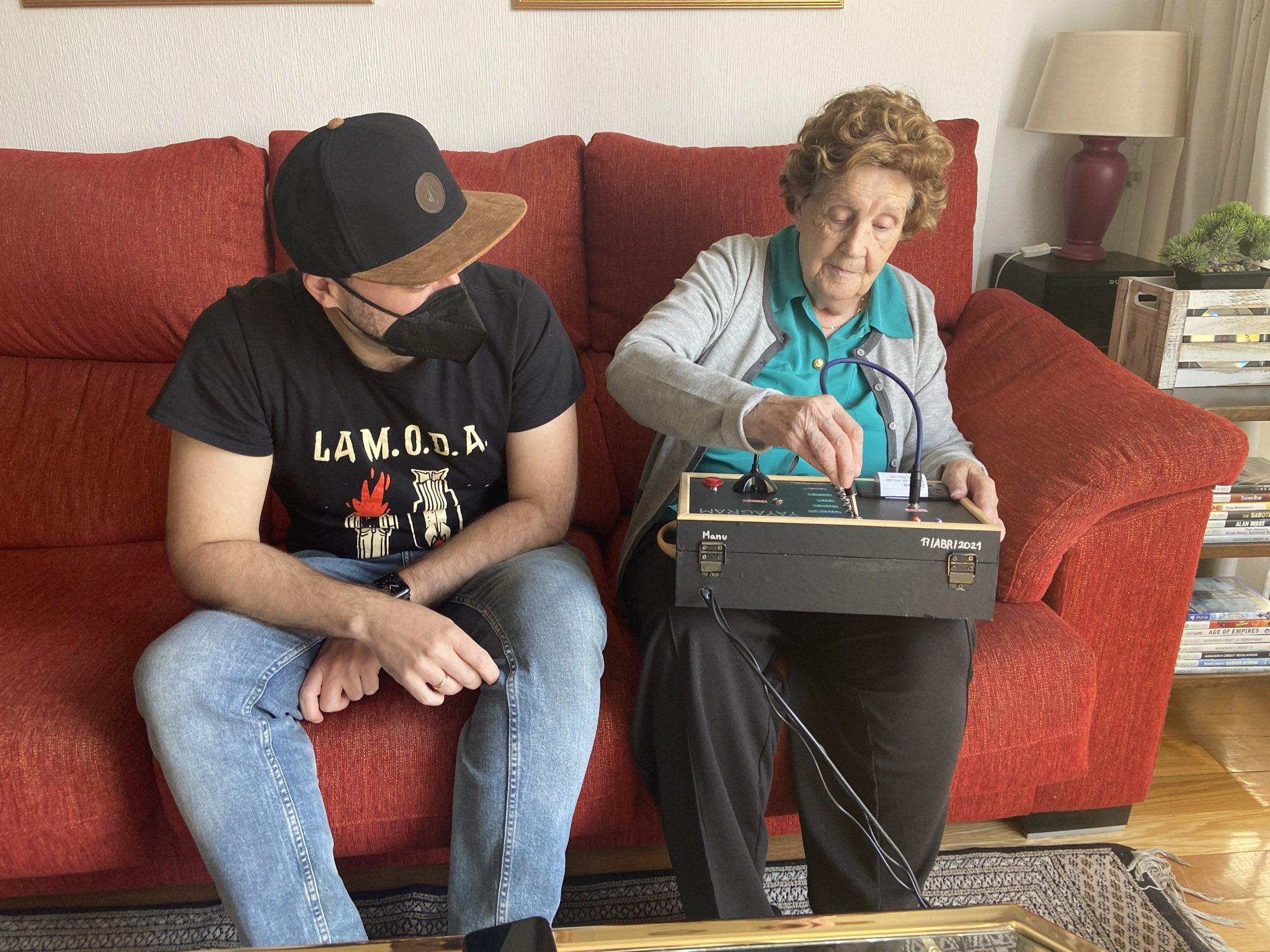 Мануэль с бабушкой