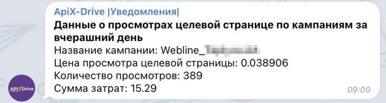 Статистика из Facebook приходит в Telegram. Как ApiX-Drive экономит время маркетинговых агентств