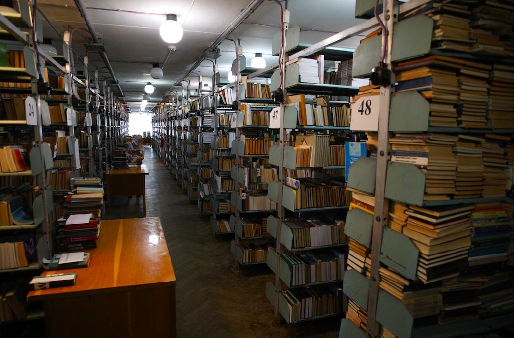 Библиотека КПИ. Фото: Facebook-страница университета