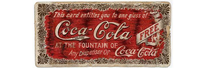 Купон на бесплатную дегустацию Coca-Cola. Источник: Coca-Cola