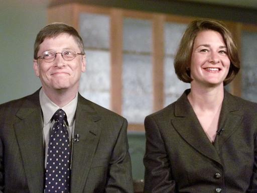 Билл и Мелинда Гейтс, 90-е годы. Источник: Business Insider