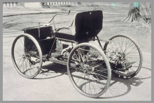 Квадроцикл Форда, 1896 год. Источник: Wikipedia