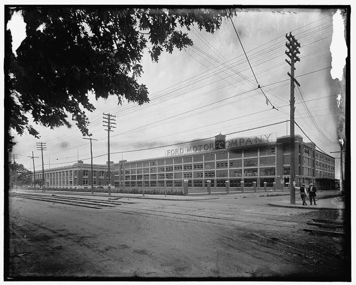 Ford Motor Company, 1910 год. Источник: Business Insider