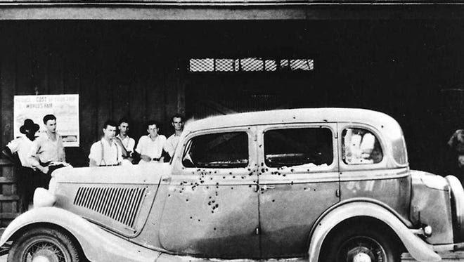 Ford V8 Бонни и Клайда. Источник: Detroit Free Press