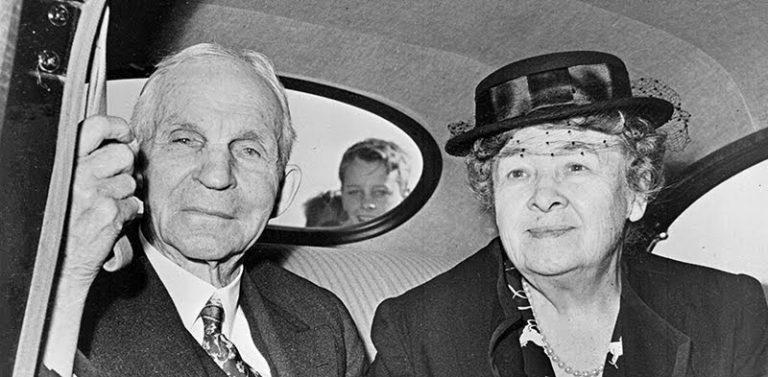Генри и Клара Форд, 1947 год. Источник: Ford Europe