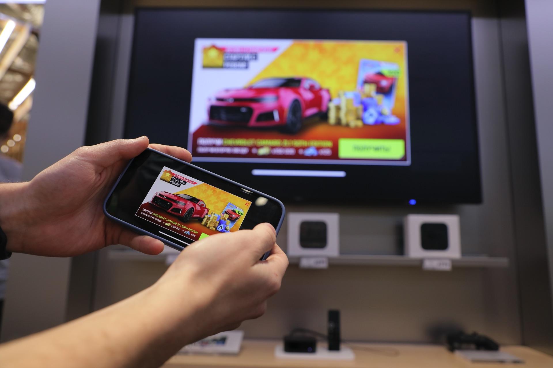 Приставка Apple TV