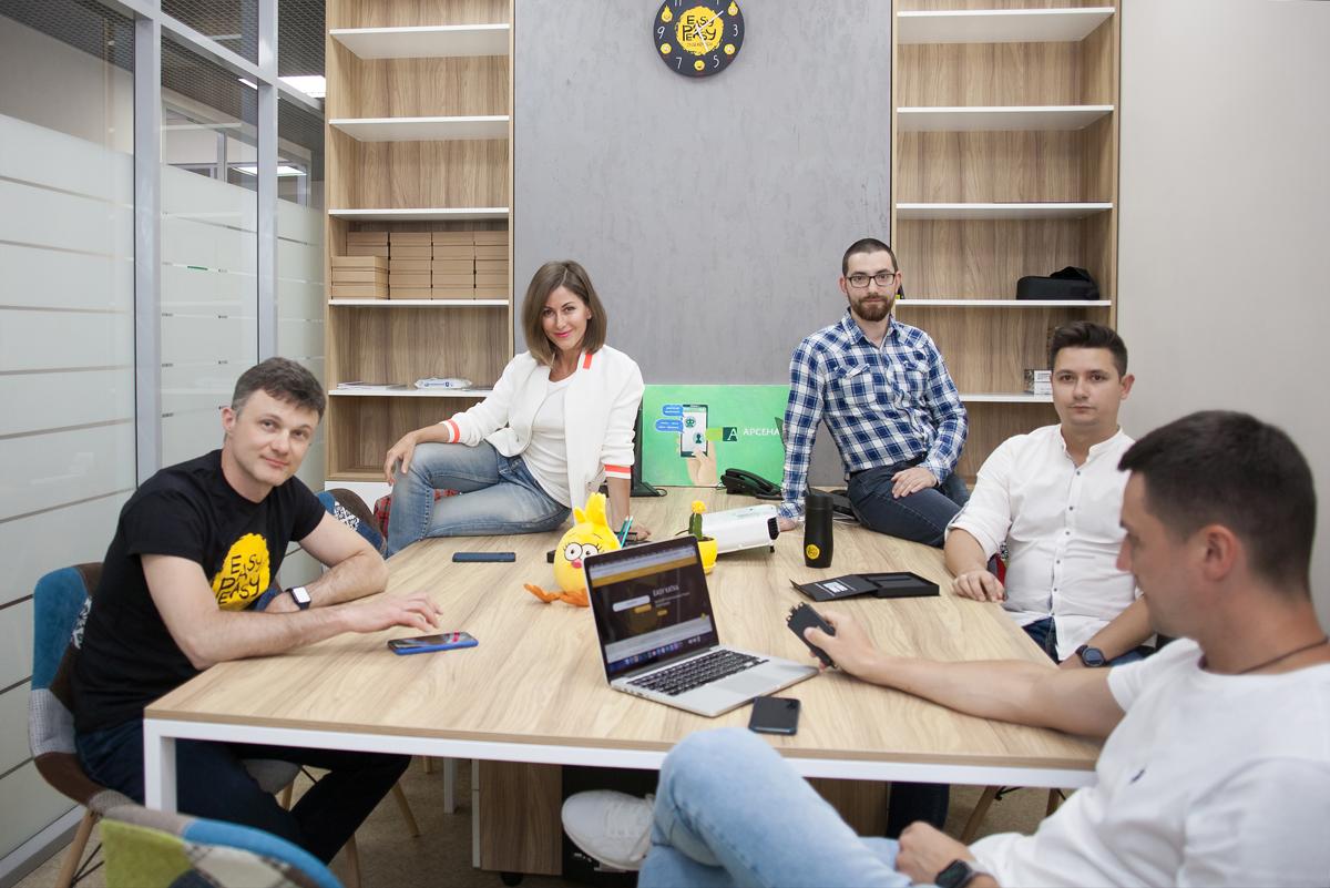 Команда стартапу Easy Peasy