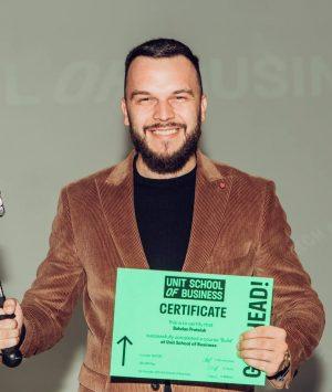 Богдан Процюк, основатель производства бумажных трубочек Eco-friendly