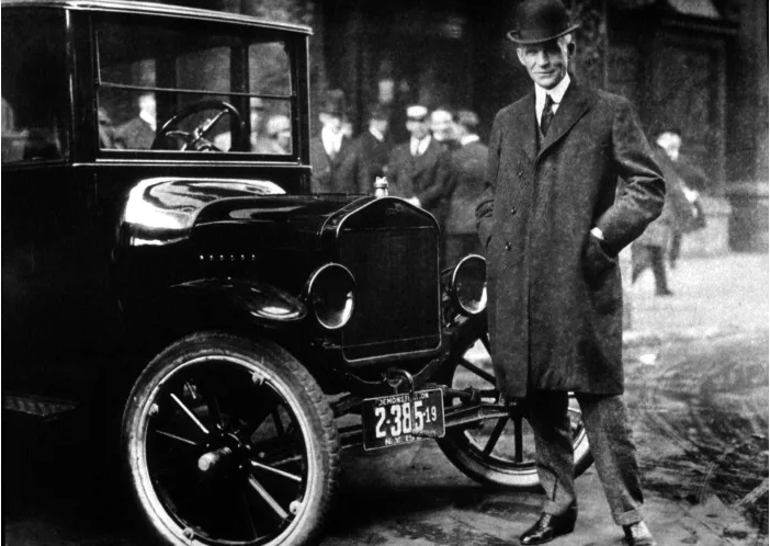 Model T и Генри Форд. Источник: History