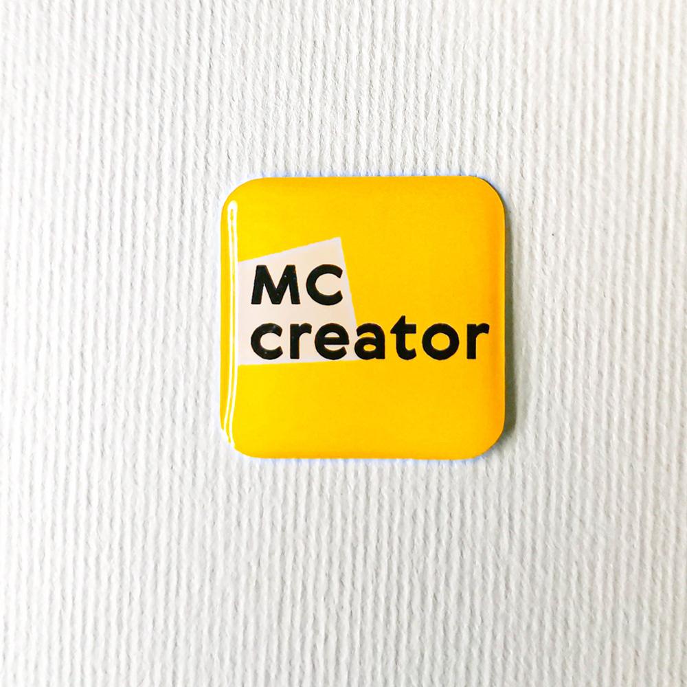 Наліпка об'ємна магнітна MC Creator