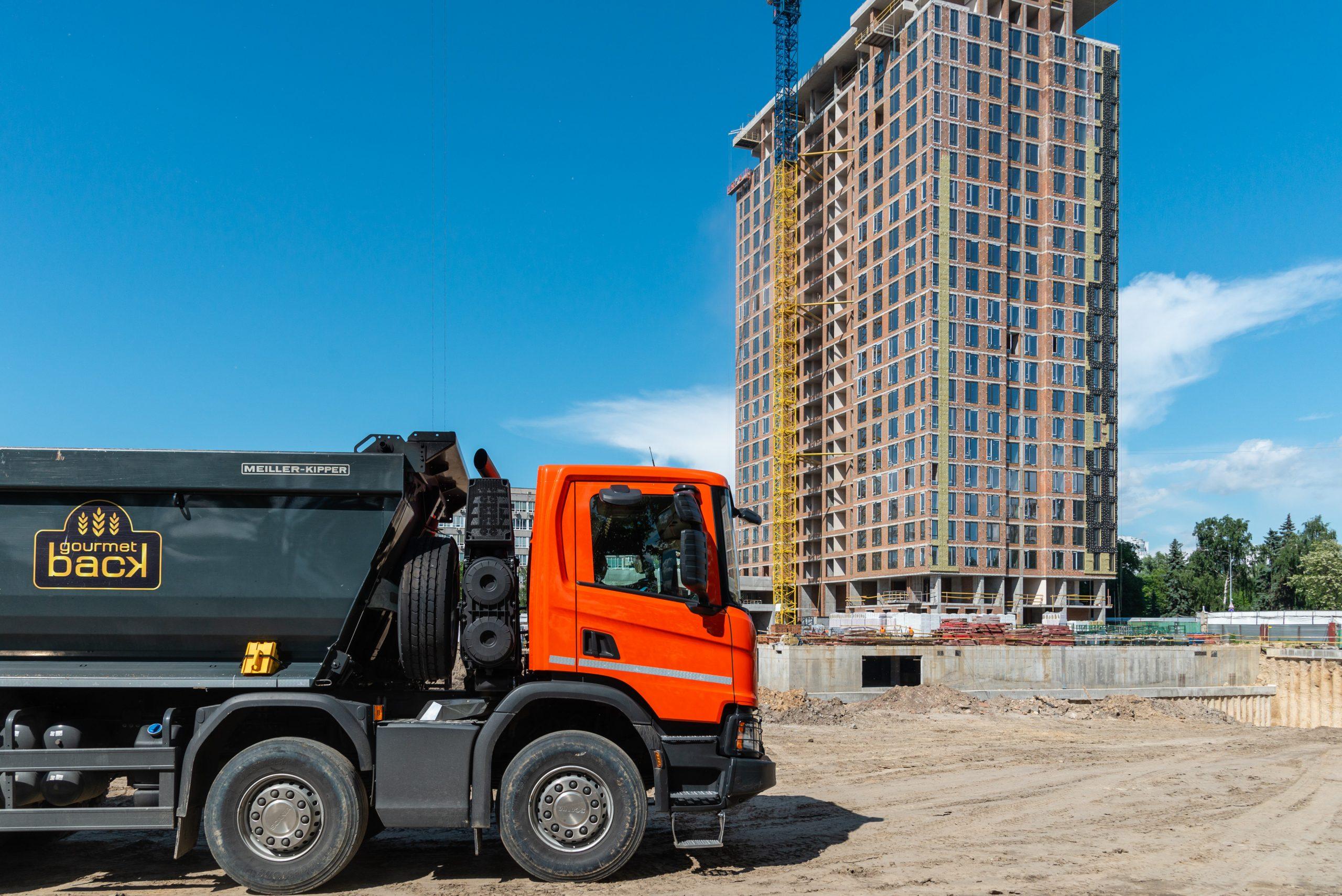 Строительство жилого комплекса Creator City, июнь 2021 года