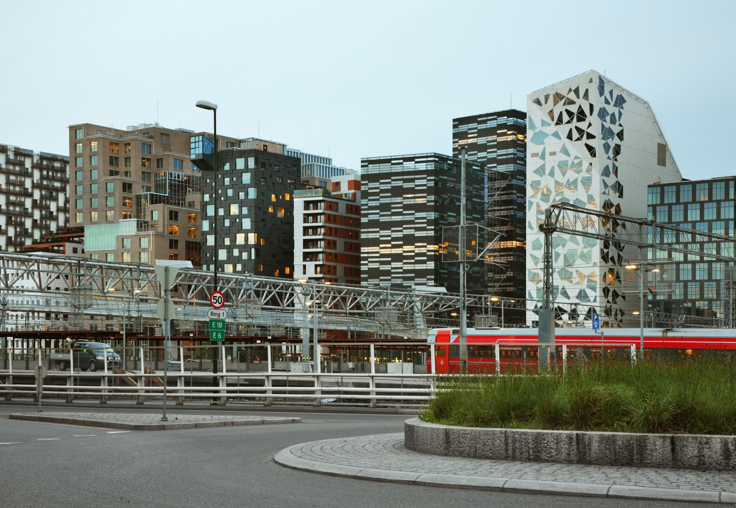 Район «Штрихкод», Осло