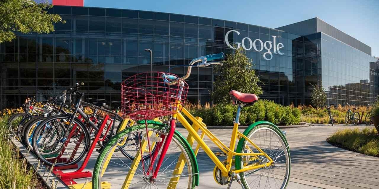 Офис Google в Кремниевой долине. Источник: California dream big