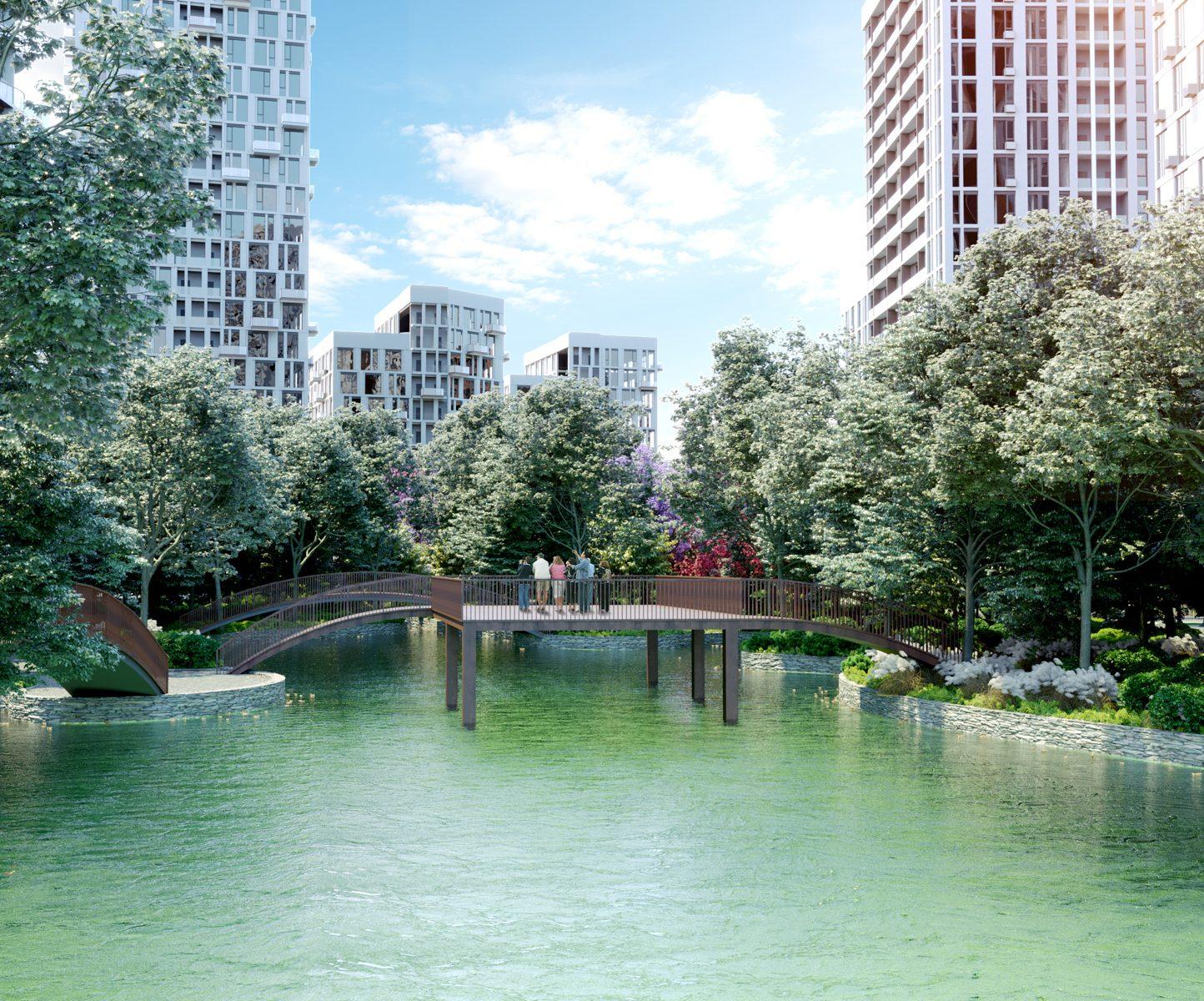 Як виглядатиме парк у житловому комплексі Creator City