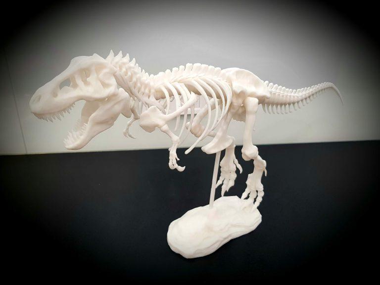 Скелет тиранозавра, надрукованний на 3D принтері