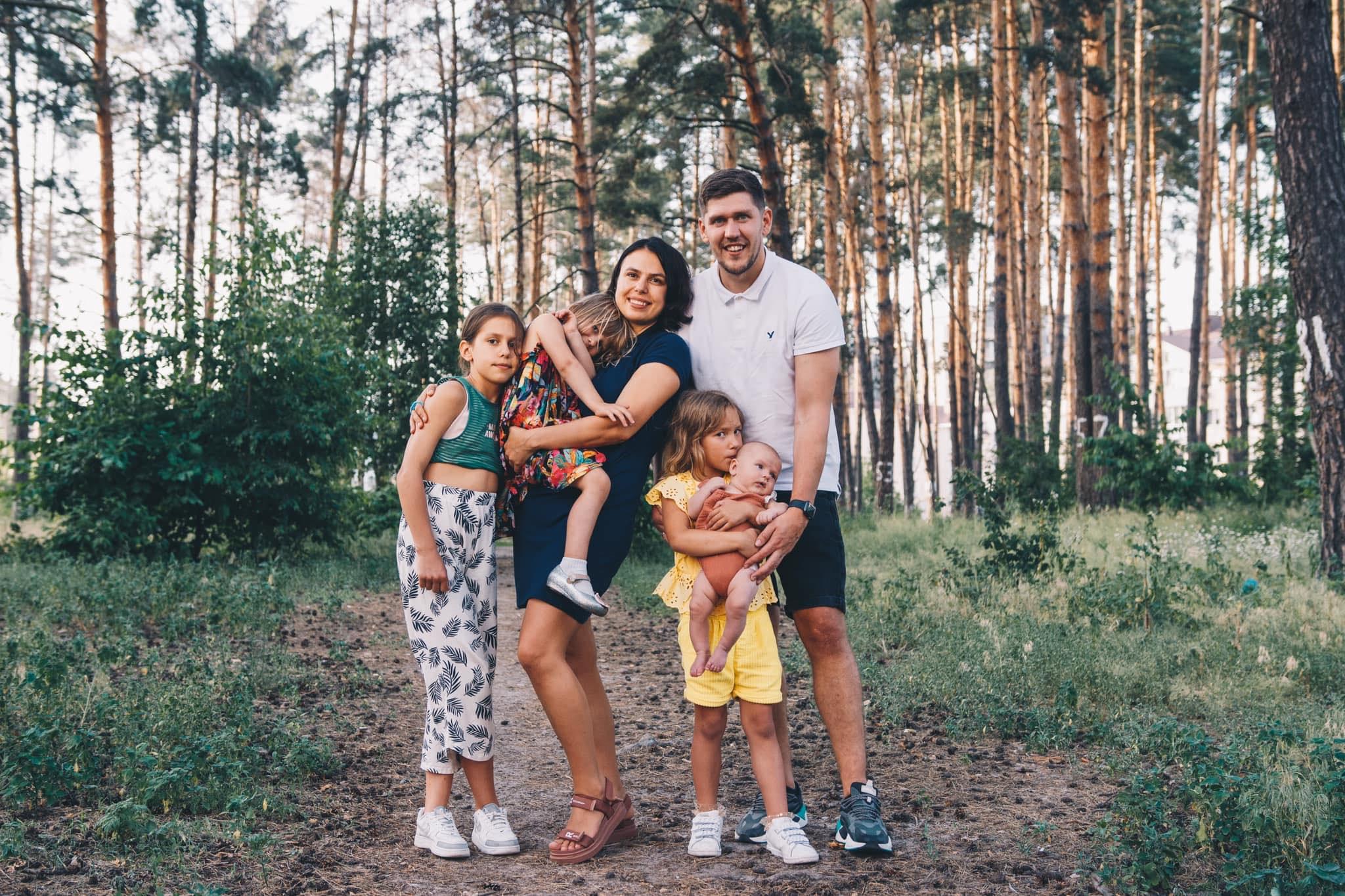 Игорь Фостенко с семьей