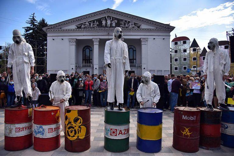 Митинг в Мариуполе, фото: Станислав Иванов