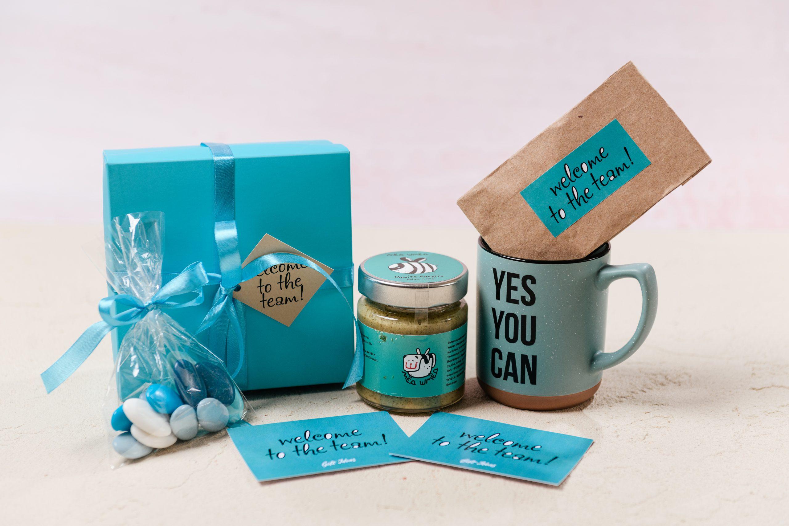 Приветственные наборы от Gift Ideas