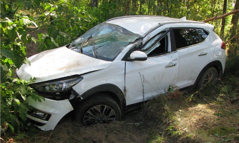 Hyundai Tucson после встречи с львицей на трассе «Запорожье-Мелитополь»