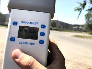 Прибор для измерения пыли
