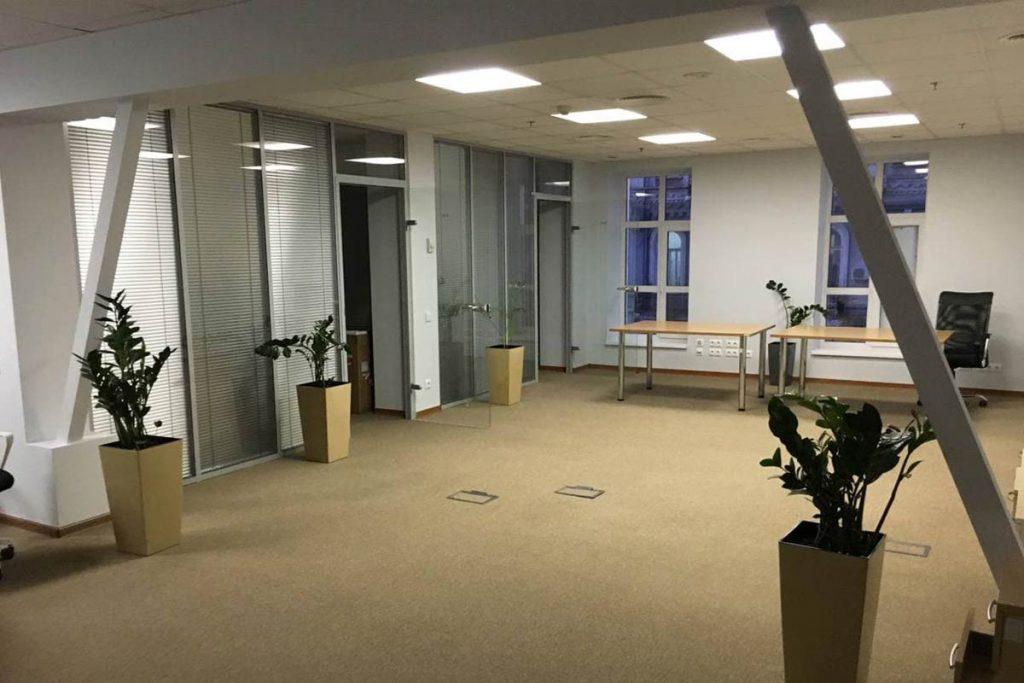Первый офис еще без команды
