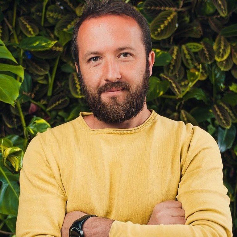 Юрій Волков, співзасновник компанії з виробництва медового мармеладу Onuka Honey