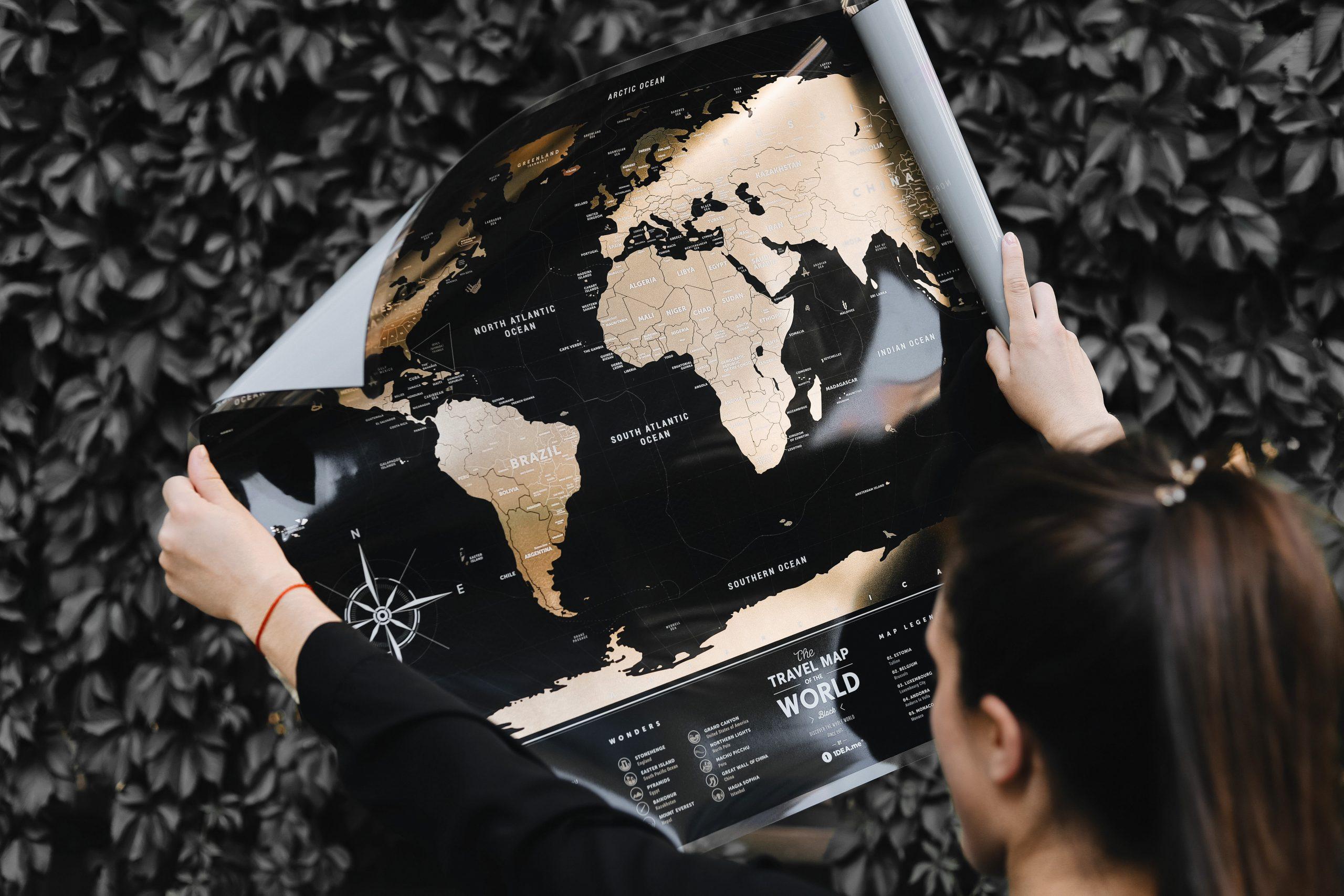 Скретч-карта мира 1DEA.me