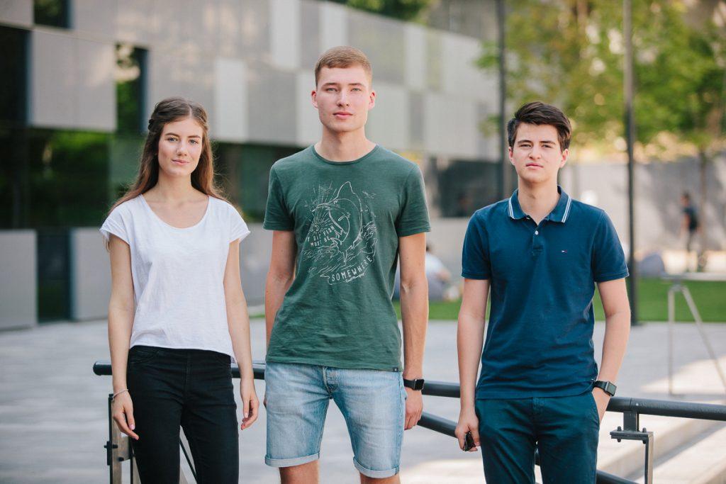 Создатели Nuka Катя Михалко, Евгений Шило и Никита Владыкин