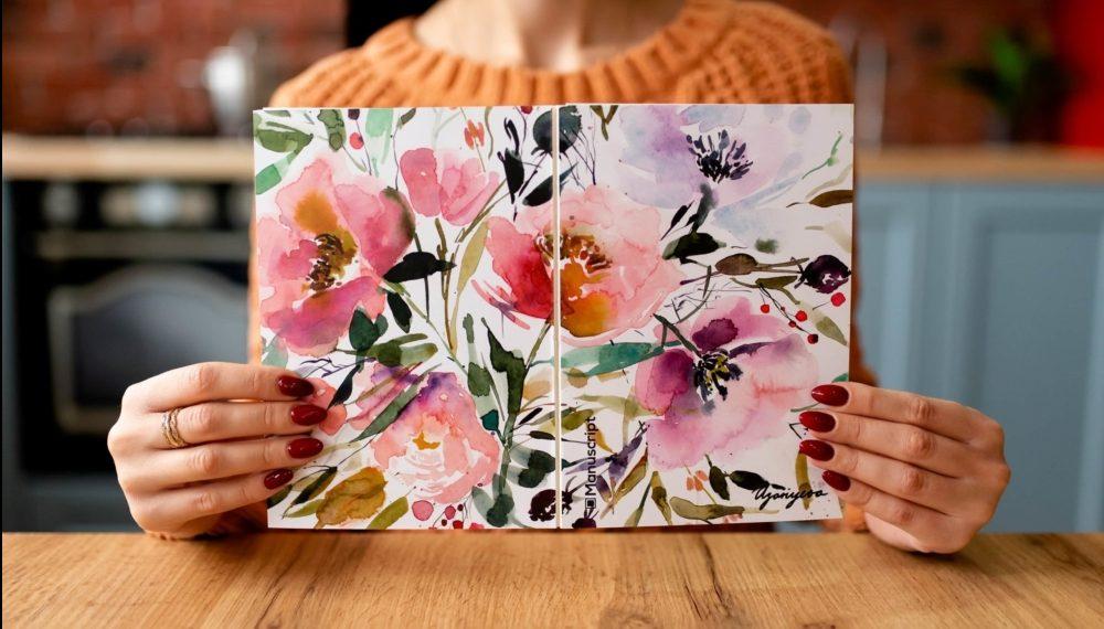 На обложке изображен рисунок украинского иллюстратора Надежды Азариевой