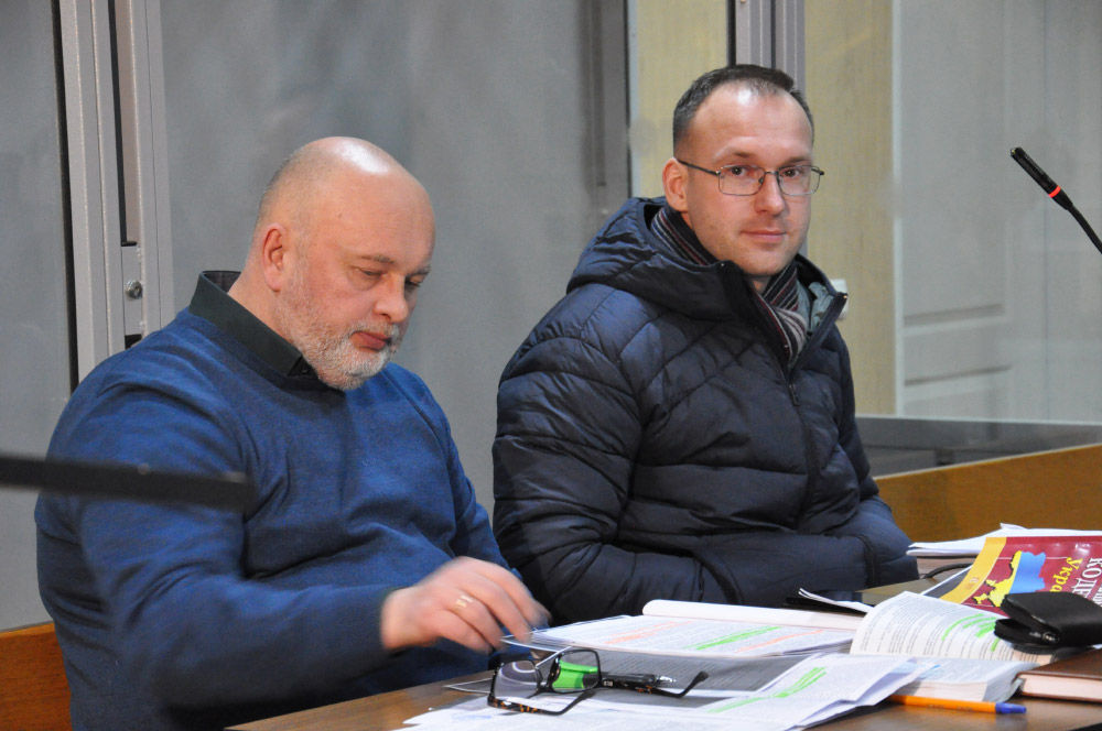 Адвокат Игорь Гонжак и Геннадий Капканов