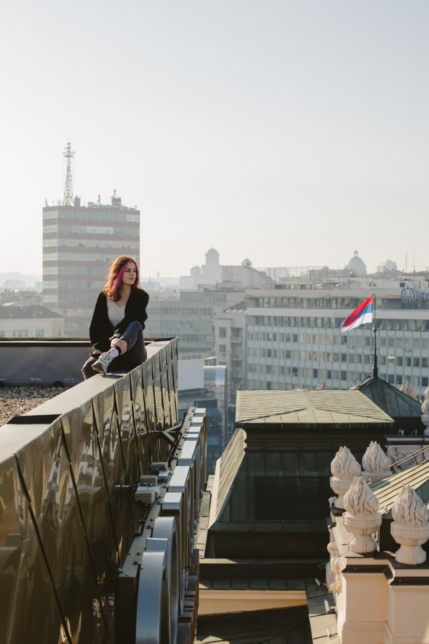 Наталія Соловйова у Сербії