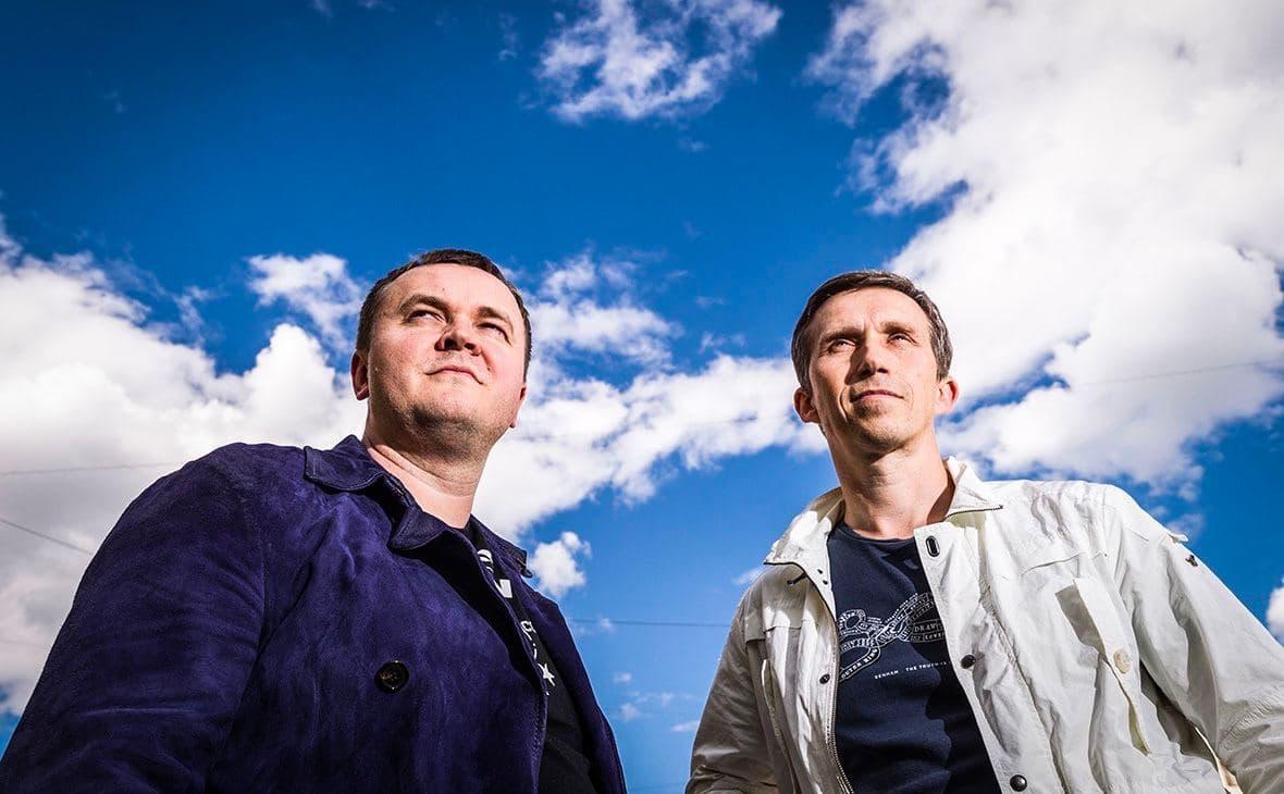 Денис Харитонов и дизайнер Lunecase